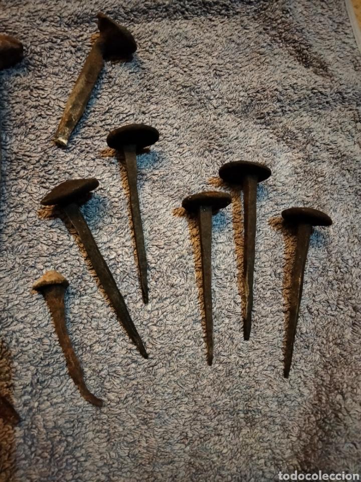 Antigüedades: Lote de clavos antiguos - Foto 2 - 287793923