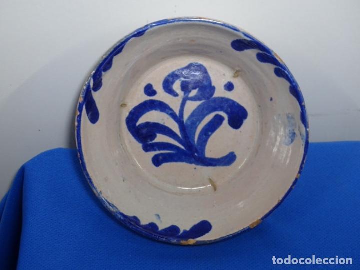 PEQUEÑO LEBRILLO DE FAJALAUZA. 16 CM. BOCA. 6 CM. ALTO. (Antigüedades - Porcelanas y Cerámicas - Fajalauza)