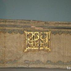 Antigüedades: IMPORTANTE ARQUETA GOTICA DEL SIGLO XV.. Lote 287799558