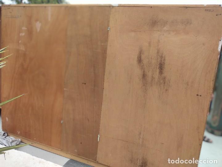Antigüedades: Antiguo armario de madera de teca,5 puertas,3 de cristal,möbel mann karlsruhe mannheim, años 50/60 - Foto 22 - 287814853