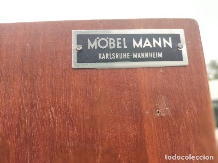 Antigüedades: Antiguo armario de madera de teca,5 puertas,3 de cristal,möbel mann karlsruhe mannheim, años 50/60 - Foto 24 - 287814853