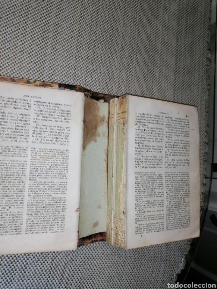 Antigüedades: La sagrada biblia Tesoro de Autores ilustres - Foto 8 - 287815453