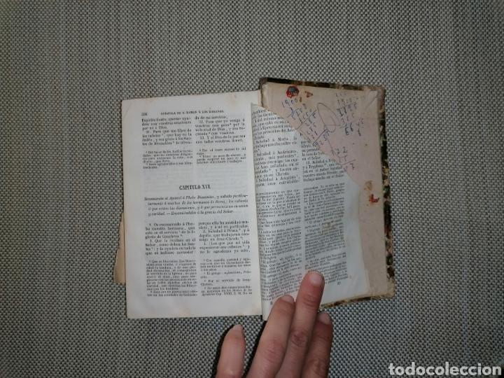 LA SAGRADA BIBLIA TESORO DE AUTORES ILUSTRES (Antigüedades - Religiosas - Artículos Religiosos para Liturgias Antiguas)