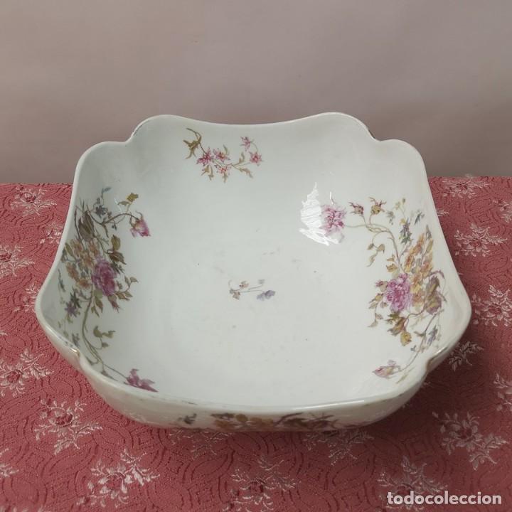 ENSALADERA ANTIGUA LIMOGE (Antigüedades - Porcelana y Cerámica - Francesa - Limoges)