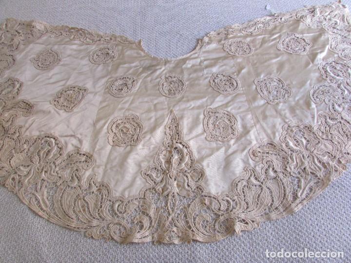 Antigüedades: ANTICUA CAPA S.XIX SALIDA DEL TEATRO - Foto 4 - 287839158