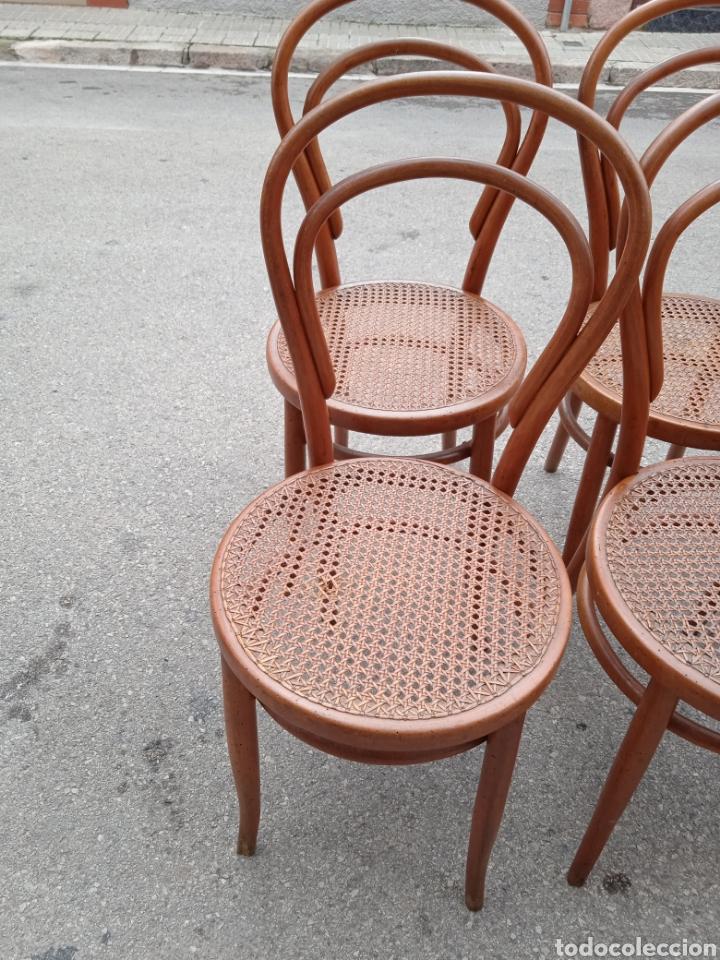 Antigüedades: 8 sillas tipo tonet - Foto 6 - 287875558