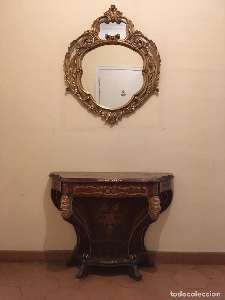 Antigüedades: Cónsola salón - Foto 7 - 287908243