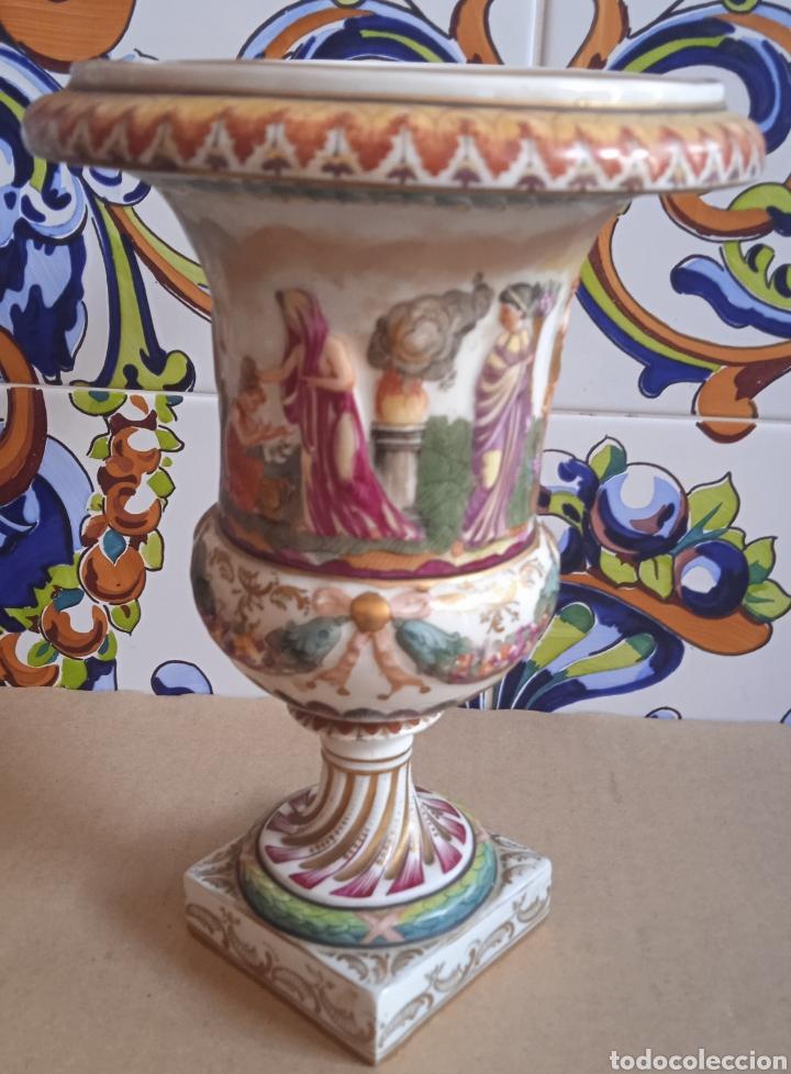 Antigüedades: Capodimonte porcelana antigua siglo XIX - Foto 4 - 287908548
