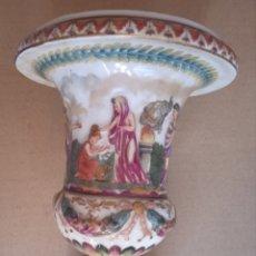 Antigüedades: CAPODIMONTE PORCELANA ANTIGUA SIGLO XIX. Lote 287908548