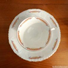 Antigüedades: TAZA CAFÉ MERIENDA.. Lote 287920583