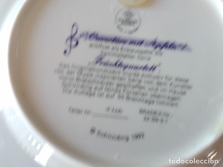 Antigüedades: Plato de colección schirnding bavaria etude mit quitten 1992 edicion limitada, ouverture - Foto 7 - 287936018