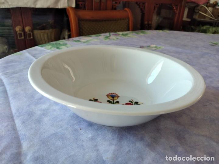 Antigüedades: Antigua ensaladera de porcelana bareuther waldsassen bavaria germany - Foto 3 - 287940563