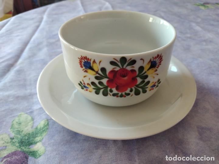 Antigüedades: Antigua salsera de porcelana bareuther waldsassen bavaria germany - Foto 2 - 287940703