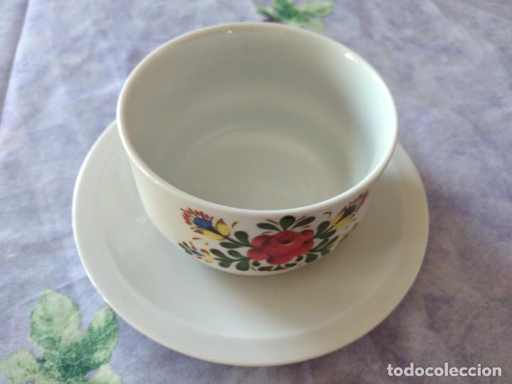Antigüedades: Antigua salsera de porcelana bareuther waldsassen bavaria germany - Foto 3 - 287940703