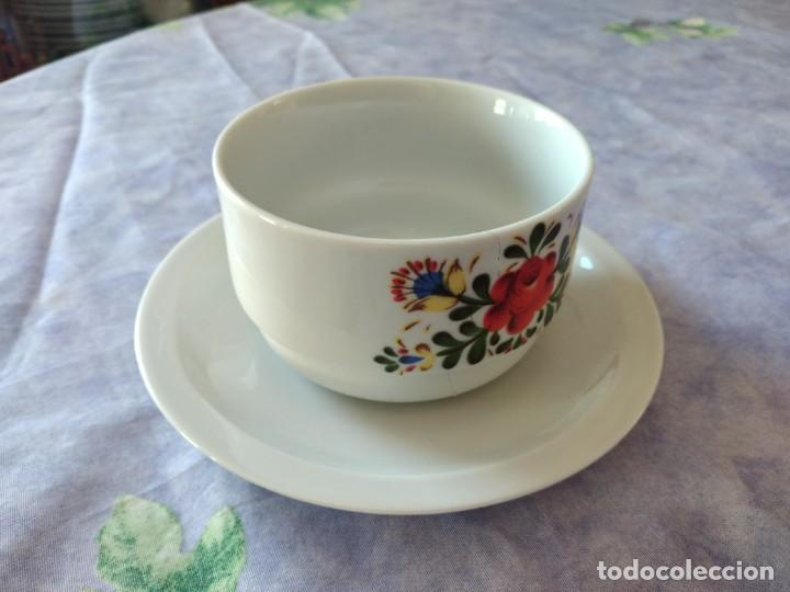Antigüedades: Antigua salsera de porcelana bareuther waldsassen bavaria germany - Foto 4 - 287940703