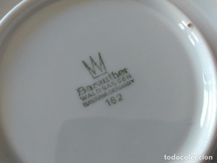 Antigüedades: Antigua salsera de porcelana bareuther waldsassen bavaria germany - Foto 5 - 287940703