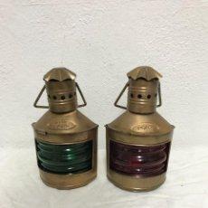 Antigüedades: BONITO PAR DE FAROLES!. Lote 287943853