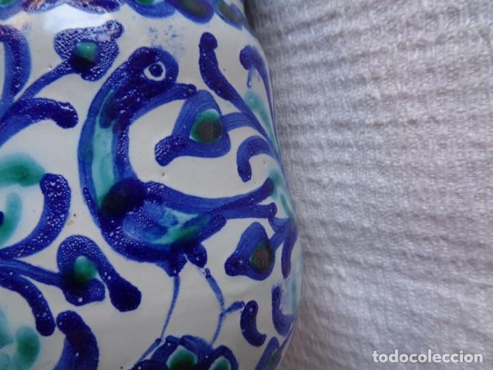 Antigüedades: JARRA DE CERÁMICA ÁRABE SAN ISIDRO, DE GRANADA. 12 Cm. - Foto 3 - 287949548