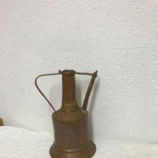 Antigüedades: JARRA DE AGUA DE SIGLO XIX DE COBRE.. Lote 287957573