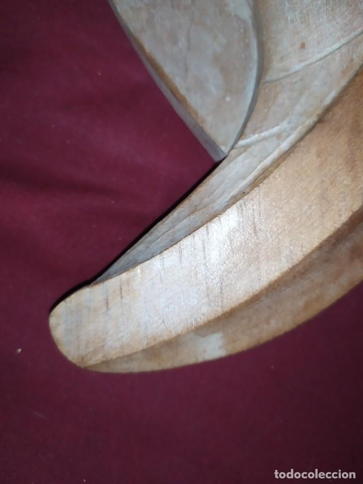 Antigüedades: RELIEVE TALLA RELIGIOSO VIRGEN MARÍA COLGAR MADERA VINTAGE DECORACIÓN MURAL AÑOS 60 70 ANTIGUO - Foto 17 - 287958738