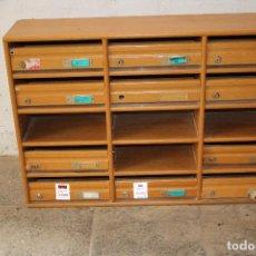 Antigüedades: BUZÓN ANTIGUO EDIFICIO. Lote 287970298