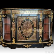 Antigüedades: GRAN MUEBLE BOULLE XIX APARADOR. Lote 251302785