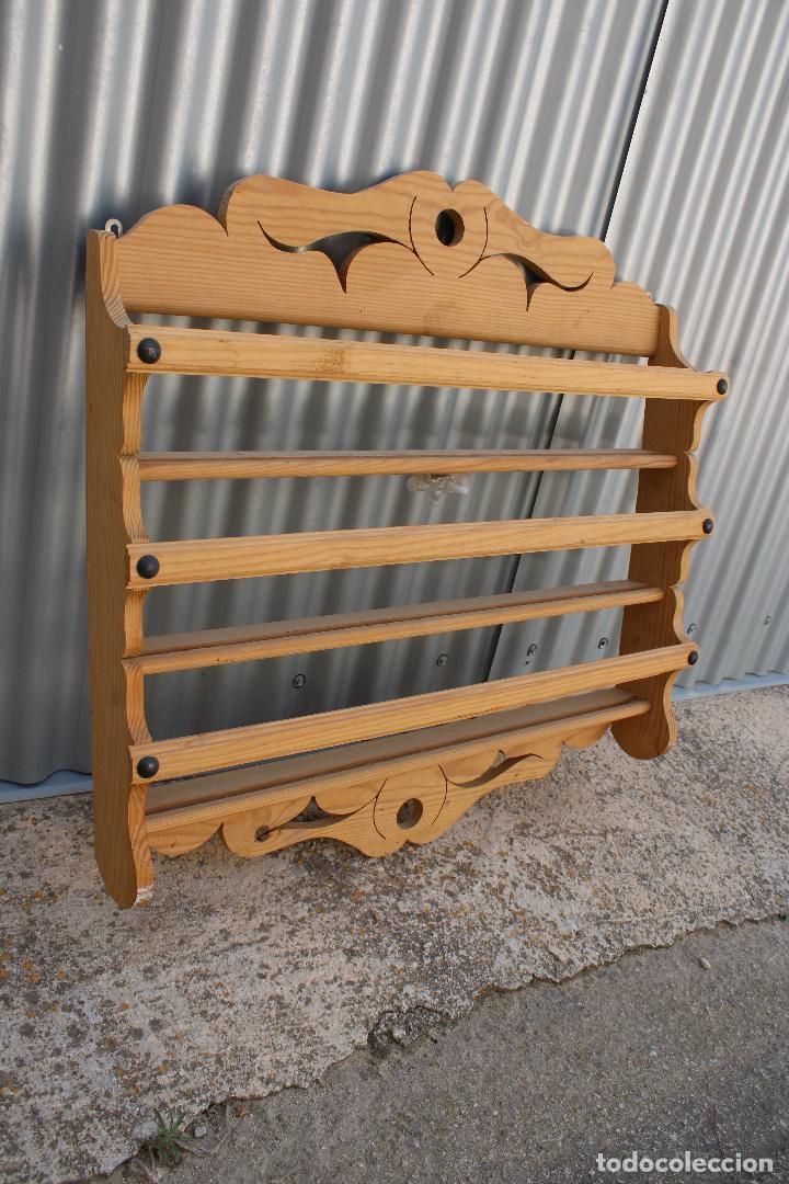 Antigüedades: platera con madera de pino - Foto 2 - 287982938