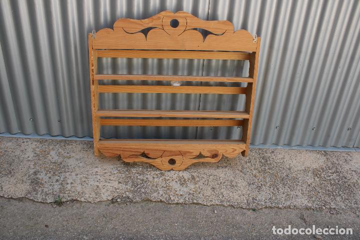 Antigüedades: platera con madera de pino - Foto 3 - 287982938