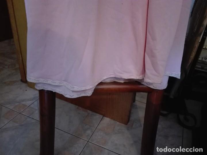 Antigüedades: Camisón talla 46 48 década de los 70 más o menos - Foto 4 - 287995443