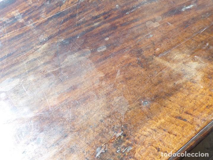Antigüedades: antiguo arcon de madera caja de novia catalana lerida o tarragona cuarterones en buen estado general - Foto 3 - 287998663