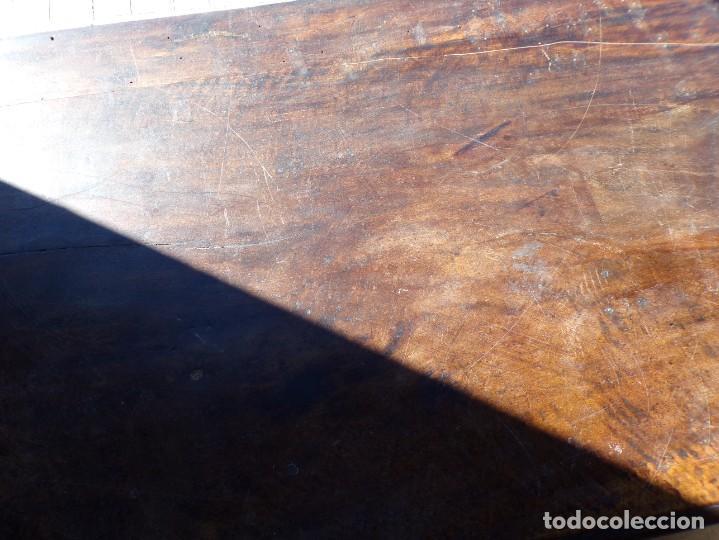 Antigüedades: antiguo arcon de madera caja de novia catalana lerida o tarragona cuarterones en buen estado general - Foto 4 - 287998663
