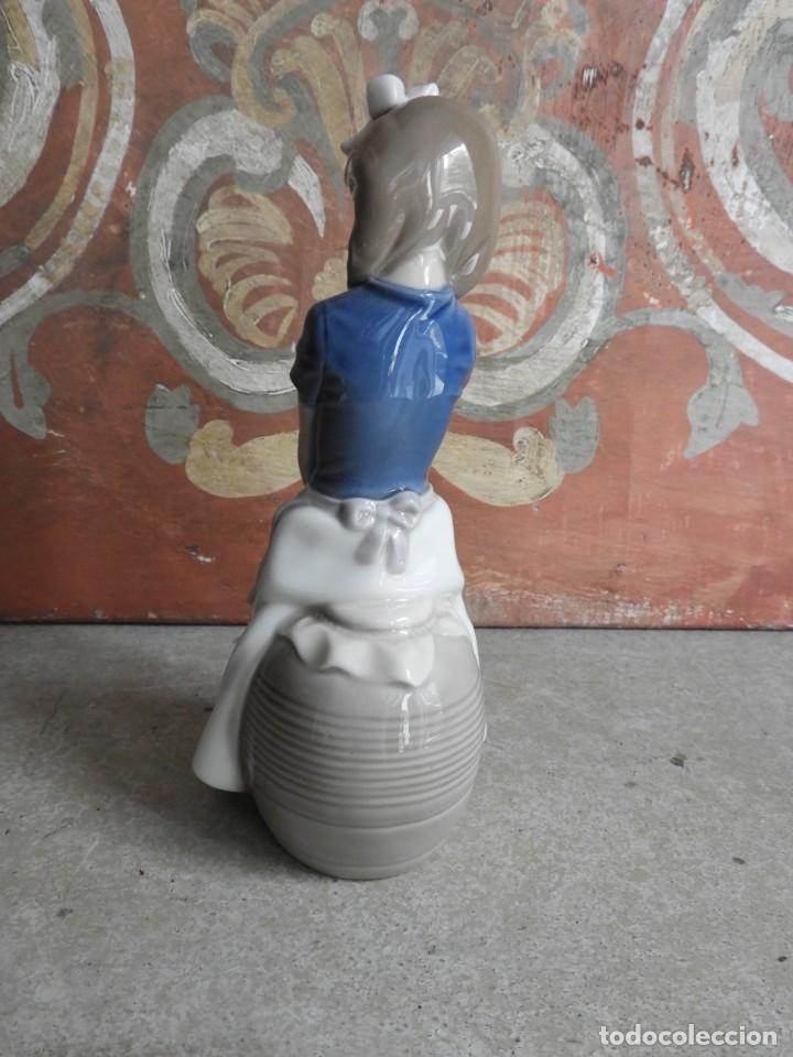 Antigüedades: FIGURA DE PORCELANA NAO LLADRO DE UNA NIÑA - Foto 3 - 288015068