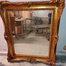 Antigüedades: ESPEJO PAN DE ORO. Lote 288016488
