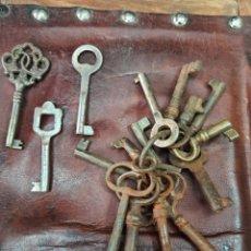 Antigüedades: LOTE DE LLAVES ANTIGUAS DE MUEBLES. N8. Lote 288019548