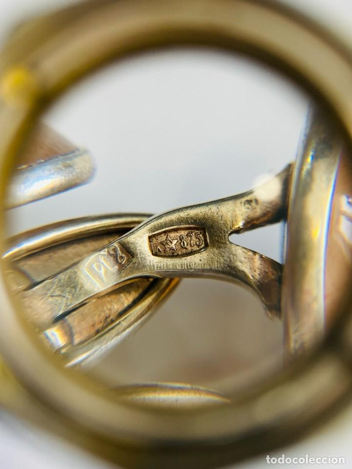 Antigüedades: GEMELOS DE PLATA 875 URSS - Foto 4 - 288025303
