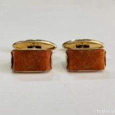 Antigüedades: GEMELOS DE PLATA 875 URSS. Lote 288027918
