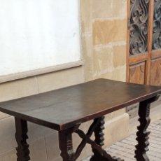Antigüedades: MESA PATA LIRA SIGLO XVII. Lote 288030423