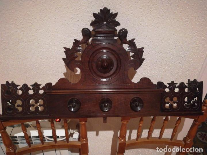 COPETE DE ARMARIO ALFONSINO (Antigüedades - Muebles Antiguos - Armarios Antiguos)