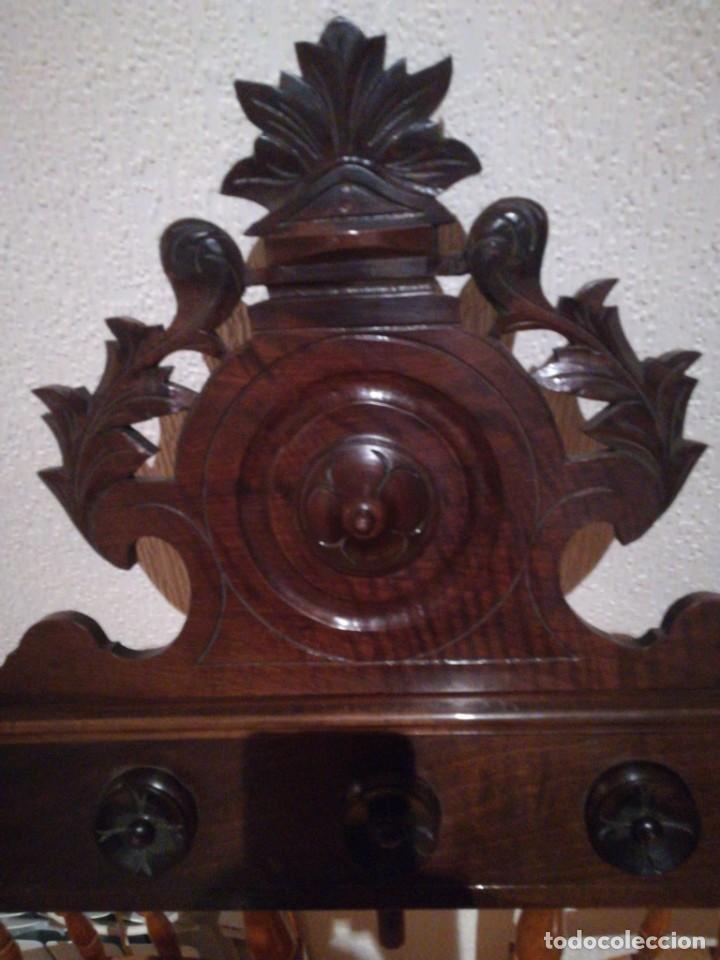 Antigüedades: Copete de armario alfonsino - Foto 2 - 288051033