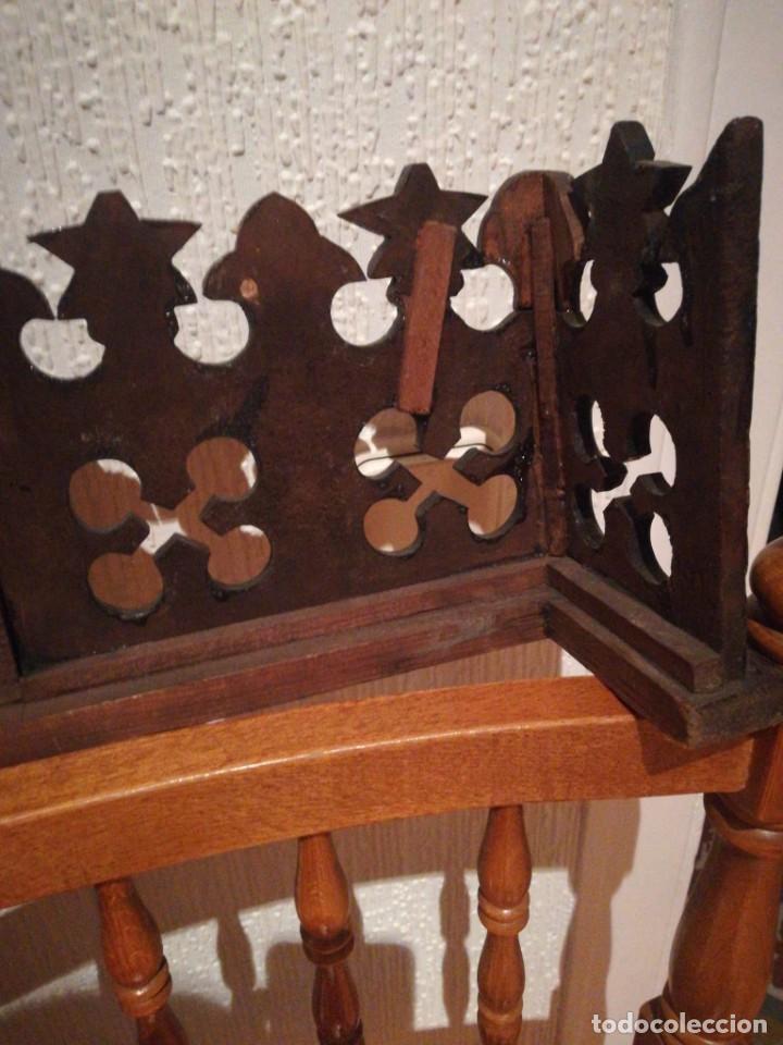 Antigüedades: Copete de armario alfonsino - Foto 4 - 288051033