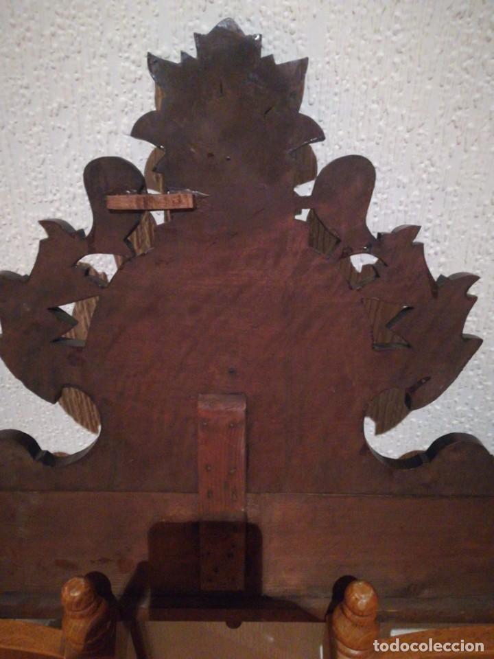Antigüedades: Copete de armario alfonsino - Foto 5 - 288051033