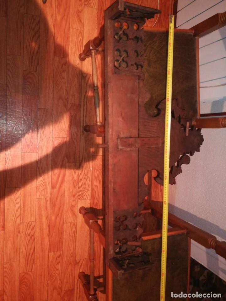 Antigüedades: Copete de armario alfonsino - Foto 6 - 288051033