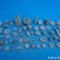Antigüedades: GRN COLECCION DE PESAS , PLOMOS , PONDERALES ... ( 1,800 GRS ).. Lote 288073553