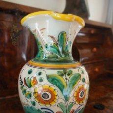 Antigüedades: JARRA CERAMICA. SANGUINO. PUENTE DEL ARZOBISPO. NUMERADA.. Lote 288129933