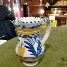 Antigüedades: JARRA DE VINO CERÁMICA TALAVERA REF-984. Lote 288135603