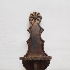 Antigüedades: MENSULA DE MADERA CASTELLANA. Lote 288156928