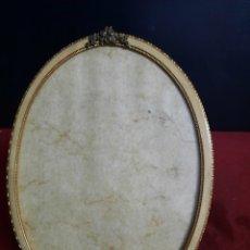 Antigüedades: ANTIGUO MARCO DORADO PARA FOTOGRAFÍA. Lote 288171883
