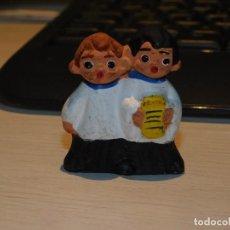 """Antigüedades: CABEZONES ALBOROX ANTIGUAS FIGURAS DE BARRO, *CORO DE MONAGUILLOS"""" AÑOS 60. 2 FOTOS DESCRIPTIVAS. Lote 288213238"""