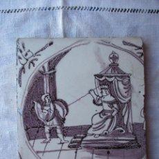 Antigüedades: AZULEJO DELFT SIGLO XVIII. Lote 288215308