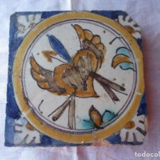 Antigüedades: AZULEJO TRIANA SIGLO XVII. Lote 288218428
